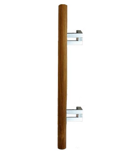 Teak Wood Offset Door Handle, First Impressions 3014W-Teak ...