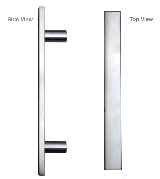 Aluminum Modern Door Pull  sc 1 st  Doorware.com & Aluminum Modern Door Pull First Impressions 3250 - Doorware.com