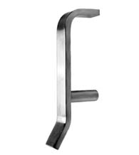 Stainless Steel Hygienic Door Pull, Don-Jo 42-630