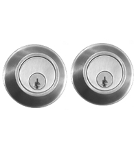 Satin Stainless Steel Grade 1 Double Cylinder Deadbolt AHI