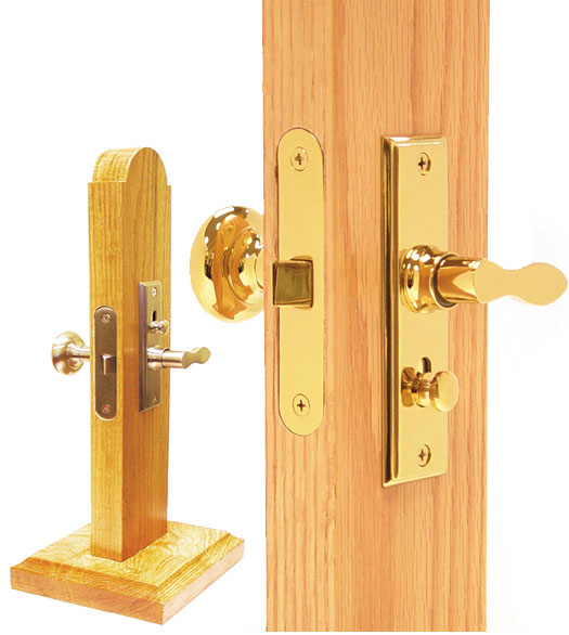 Brass Screen Door Latch Mortise Lock