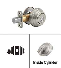 Grade 1 Single Cylinder Deadbolt, Kwikset 980