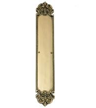 Fleur De Lis Solid Brass Push Plate Brass Accents A04-P3220  sc 1 st  Doorware.com & Decorative Door Pull and Push Plates | Brass Door Plates - Doorware.com