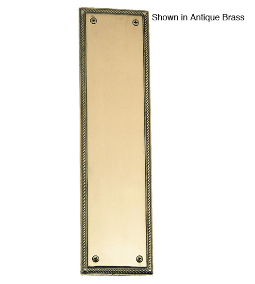 Academy Rope Decorative Push Plate