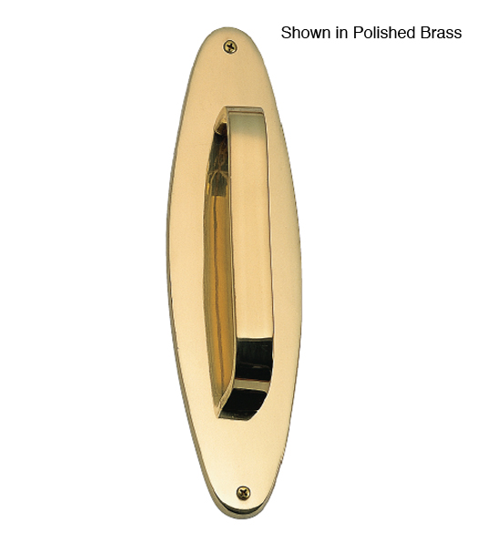 Oval Door Pull And Plate