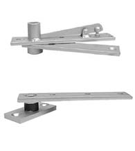 Floor Mounted Center Hung Pivot Set, ABH 0128