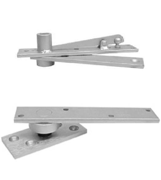 Center Pivot Hinges For Doors : Heavy door center hung pivot set abh doorware