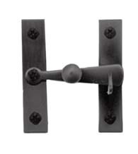 Flush Smooth Iron Cabinet Door Latch, Acorn ALJBR