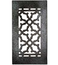 10 x 5-1/2 Cast Iron Grille Without Screw Holes, GR5BG