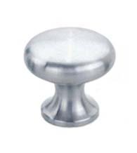 Charmant Petronius Half Round Stainless Steel Cabinet Knob, Acorn PMH C 05