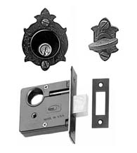 Warwick Single Cylinder Mortise Deadbolt, Acorn WTQBI