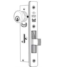 Narrow Stile Bottom Rail Deadlock, Adams Rite 1830