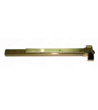 Grade 1 Polished Brass Exit Device For 38 - 48 Inch Door,  PDQ 4200R-A605