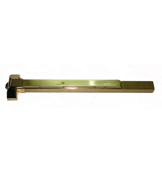 Polished Brass Rim Exit Device