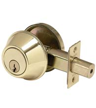 Commercial Deadbolt, Standard Duty, PDQ KV Series