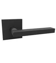 Black Modern Door Levers, AHI SIG110-204-P22
