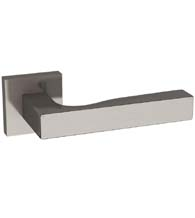 Uptown Square Stainless Steel Lever with Square Rosette, AHI SIG160/204