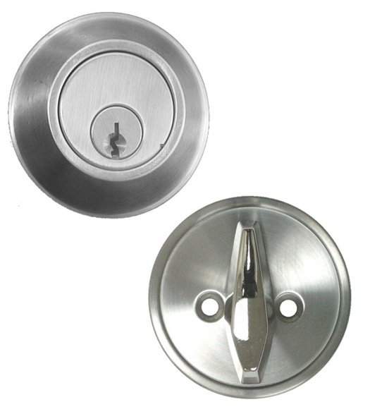 Satin Stainless Steel Deadbolt