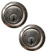 Satin Stainless Steel Double Cylinder Deadbolt, AHI 4660