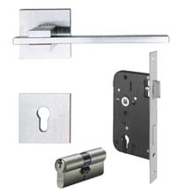 Stainless Steel European Mortise Lock Entry Leverset, AHI SIG203-EU1x56