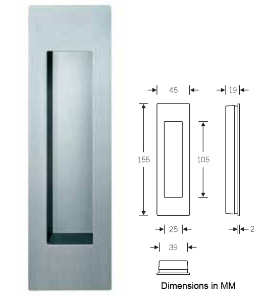 flush door pulls. click to enlarge image flush door pulls k