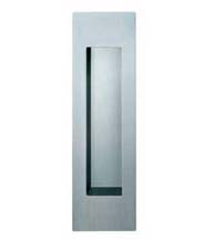 Contemporary Satin Stainless Steel Flush Door Pull, AHI-FSB-4251-630