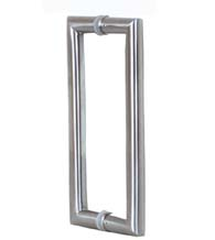 9-1/4 Inch Stainless Steel Shower Handles, Pair, AHI SD-SIG414-630