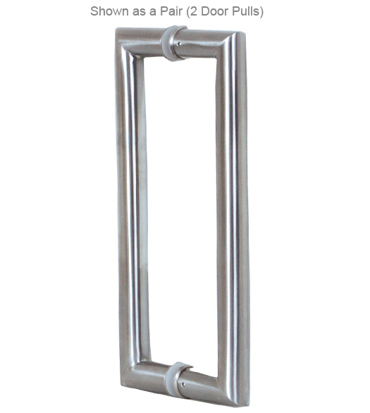 Contemporary Stainless Steel Shower Handles