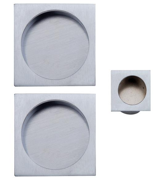 Modern Square Pocket Door Passage Set Reguitti Sdk092pa