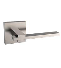 Stainless Steel Dover Leverset With Square Rose, AHI SIG124-204