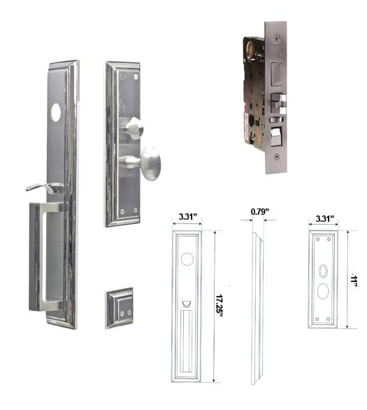 front door handlesetEntry Door Handlesets  Stainless Steel Entry Door Hardware