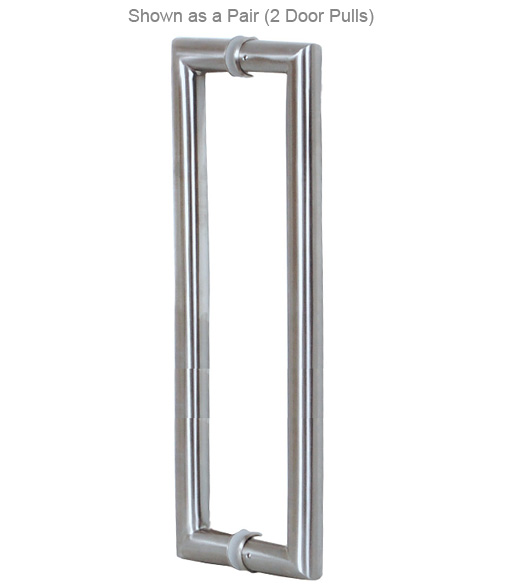36 Inch Contemporary Stainless Steel Door Handle, AHI SIG409 914 630