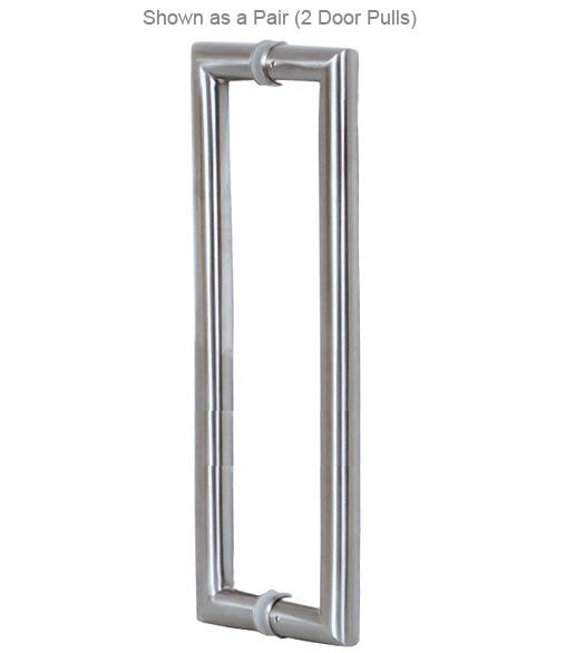 36 Inch Contemporary Stainless Steel Door Handle, AHI SIG409 914 630