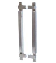 Contemporary Square Stainless Steel Door Pull, AHI SIG441-630