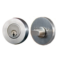 Contemporary Stainless Steel Single Cylinder Deadbolt, AHI 4750