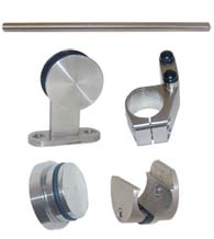 Stainless Steel 36 Inch Barn Door Kit, AHI SIG500-630