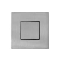 Square Stainless Steel Flush Door Pull with Flush Cover, AHI SIG773-630