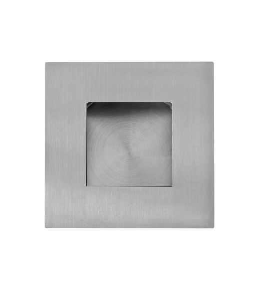 Square Flush Door Pull