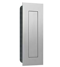 Stainless Steel Flush Door Pull with Flush Cover, AHI SIG775-630
