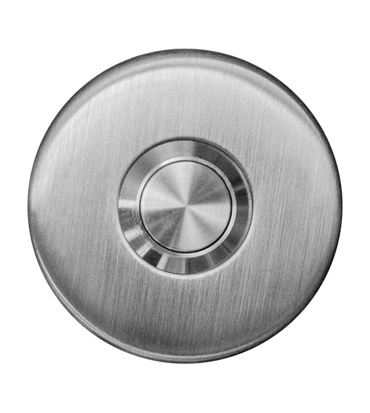 Stainless Steel Round Doorbell Button, AHI SIG761