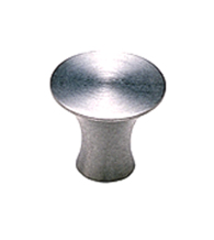 Curved Stainless Steel Cabinet Knob, Acorn AZC200