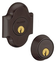 Arched Double Cylinder Grade 1 Deadbolt, Baldwin 8253