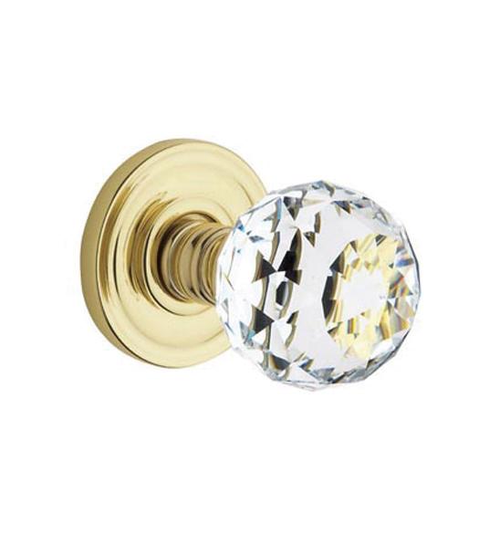 Swarovski Crystal 5009 Knob With 5048 Rose