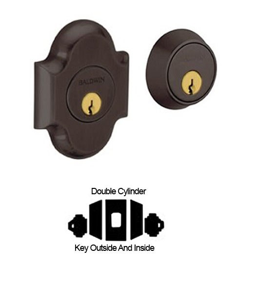 Arched Grade 1 Double Cylinder Deadbolt