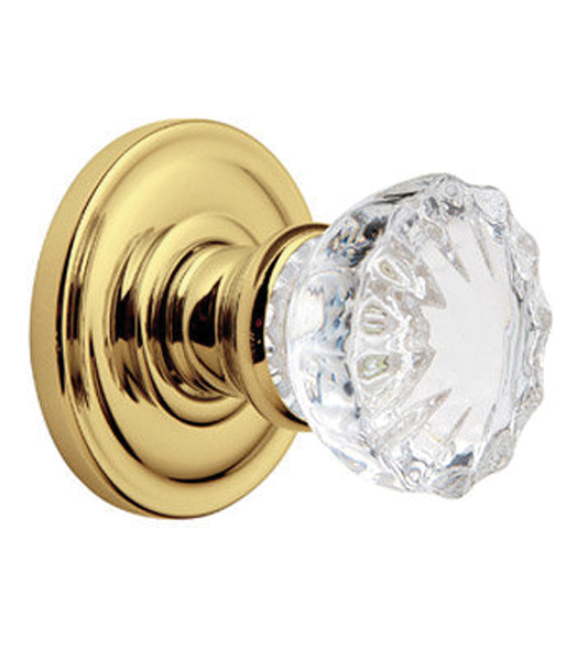 classic crystal dorchester knob - Baldwin Door Knobs