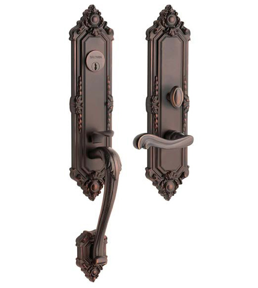 Ornate Kensington Entrance Trim Set