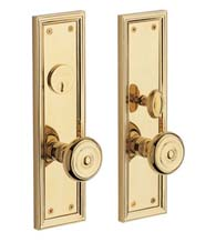 Nashville Mortise Entrance Set, Baldwin 6547