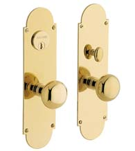 Mortise Boston Entry Set, Baldwin 6555