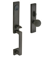 Modern New York Mortise Handleset, Baldwin 6562