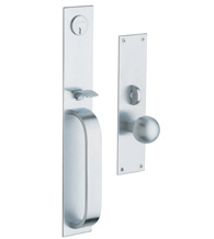 Chicago Mortise Handleset, Baldwin 6563